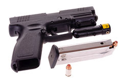 Free Semi-auto Pistol Royalty Free Stock Image - 45757106