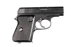 Semi-auto revólver Fotografia de Stock