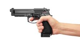 Semi-automatic gun Stock Photography