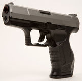 Semi Automatic Hand Gun Stock Photography
