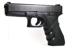 Semi-automatic handgun Royalty Free Stock Images