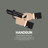 Semi-Automatic Handgun Royalty Free Stock Images