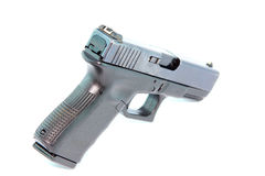 Semi automatic pistol Royalty Free Stock Images