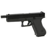 Semi-automatic pistol on white 3D Illustration Royalty Free Stock Photography