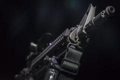 Semi Automatisch Machinegeweer Stock Afbeeldingen