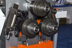 Semi Automatische pijp of buis buigende machine voor industrieel stock fotografie