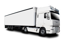 Semi caminhão Fotos de Stock Royalty Free