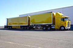 Semi camion fotografia stock