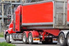 Semi camion Photos libres de droits
