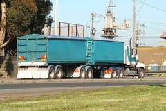 Semi camion Image stock