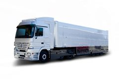 Semi camion Immagine Stock