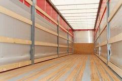 Semi camion orizzontale Fotografia Stock