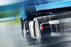 Semi Ciężarowy Spedition Zdjęcia Royalty Free