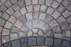 Semi-circle επίστρωση Στοκ Εικόνες