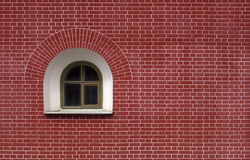 Semi-circle window Stock Images
