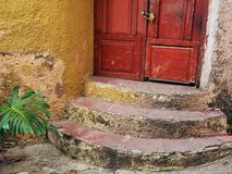 Semi Circular Steps, Plaka Stock Images