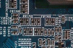 Semi-conducteur de panneau de carte PCB Photographie stock libre de droits