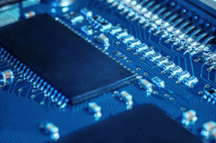 Semi-conducteur de panneau de carte PCB image libre de droits