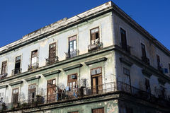 Semi-decay - Havana, Cuba Royalty Free Stock Photography