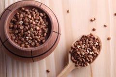 Semi del grano saraceno Fotografia Stock Libera da Diritti
