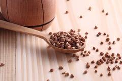 Semi del grano saraceno Fotografie Stock Libere da Diritti