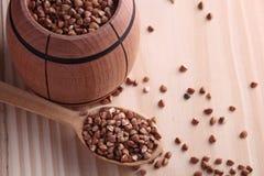 Semi del grano saraceno Immagini Stock Libere da Diritti