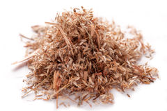 Semi dell'erba della palmarosa (martinii di Cymbopogon) Immagine Stock