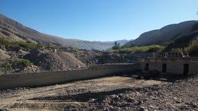 Semi-desert περιβάλλον - Tacna, Perú Στοκ φωτογραφίες με δικαίωμα ελεύθερης χρήσης