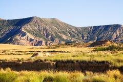 Semi-desert landscape in Navarra Royalty Free Stock Photos