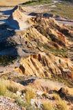 Semi-desert landscape of Navarra Stock Photos