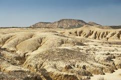 Semi-desert landschap Royalty-vrije Stock Foto