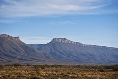 Semi-desert Lanscape with Gamka Mountains Stock Images