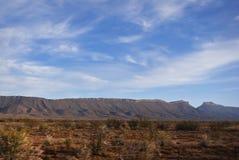 Semi-desert Lanscape with Gamka Mountains Stock Photo