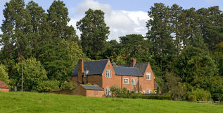 Semi detached house Royalty Free Stock Photography