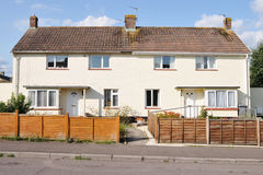 Semi-Detached Houses royalty free stock photography