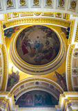 The semi-dome of St Isaac's Cathedral in St Petersburg Royalty Free Stock Photo