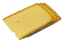Semi-hard cheese Royalty Free Stock Photos
