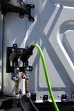 Semi línea de aire del camión suspensiones imagen de archivo libre de regalías