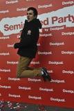 Semi nagi przyjęcie desigual Barcelona Zdjęcie Royalty Free