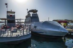 Semi onderzeeër stock afbeeldingen
