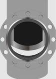 Semi-open valves. Stock Images