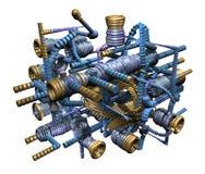 Semi-organic engine Stock Photos