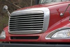 Semi parte frontal do caminhão imagem de stock royalty free