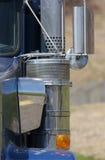 Semi particolare del camion Fotografia Stock
