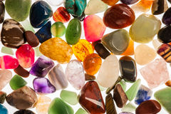 Semi Precious Gem Stones Royalty Free Stock Images