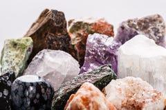 Semi-precious gems macro Stock Image