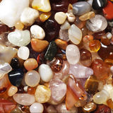 Semi precious gemstones Royalty Free Stock Photography