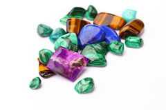 Semi-precious stones Royalty Free Stock Images