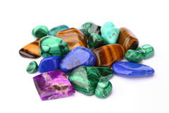 Semi-precious stones royalty free stock images