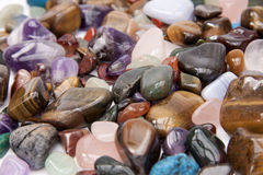Semi precious stones Stock Photography